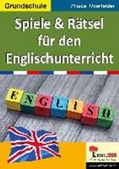 Spiele & Rätsel für den Englischunterricht