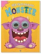 """Malblock mit Kulleraugen """"Monster"""""""