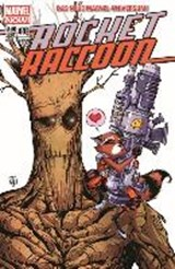 Rocket Raccoon 02: Quer durch die Galaxie und dann links | Skottie Young |