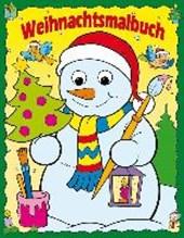 Weihnachtsmalbuch Kulleraugen Schneemann