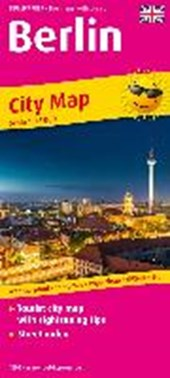 Berlin City Map englisch1:18