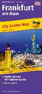 Frankfurt am Main City Centre Map (engl) 1 :