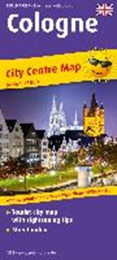 Cologne City Centre Map (engl) 1:18