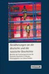 Annäherungen an die deutsche und die russische Geschichte