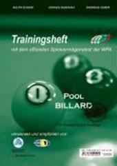 Pool Billard Trainingsheft PAT