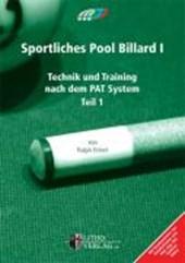 Sportliches Pool Billard