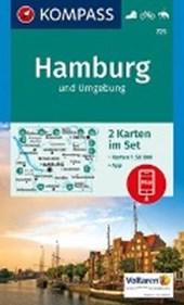 Kompass WK725 Hamburg und Umgebung