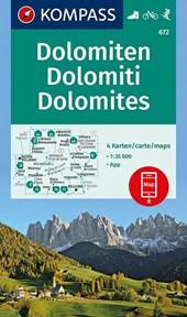 Dolomiten - Dolomites - Dolomiti 1 : 35 000