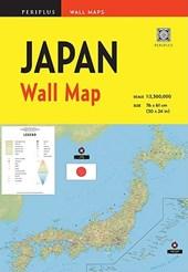 Periplus Wall Maps Japan