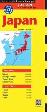 Periplus Japan Country Map |  |