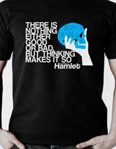 Hamlet T-shirt, Medium