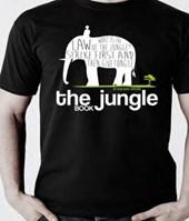 Jungle book: t-shirt, size 'l' white color