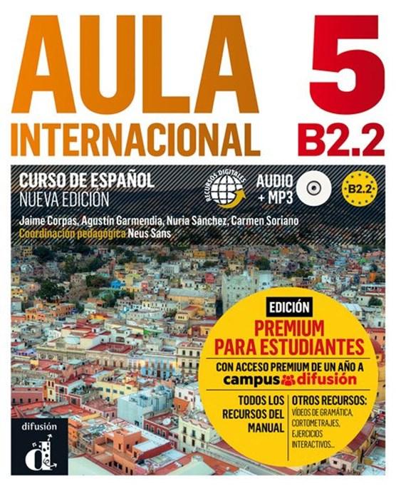 Aula Internacional 5 Libro del alumno + MP3 versión Premium