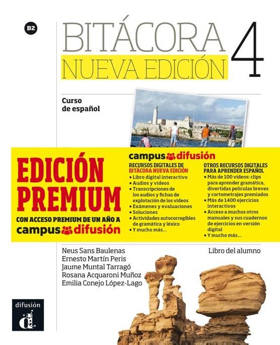 Bitácora 4 nueva edición libro del alumno + MP3 versión Premium