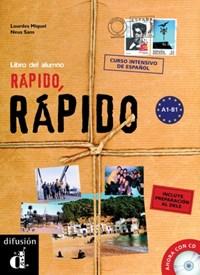 Rápido, rápido Libro del alumno + CD | auteur onbekend |