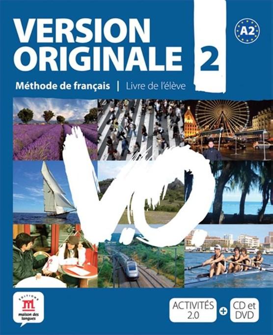 Version Originale 2 livré de l´élève + CD + DVD