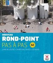 Nouveau Rond-point pas à pas A2 livre de l'élève + cahier d'activités + CD