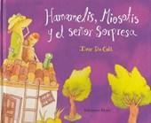 Hamamelis, Miosotis y El Senor Sorpresa