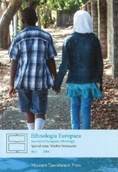 Ethnologia Europaea 46:1 - Special Issue - Muslim Intimacies