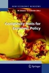 Complexity Hints for Economic Policy