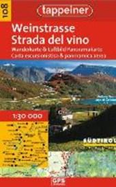 Weinstrasse, Wanderkarte und Luftbild Panoramakarte 1 : 30.000