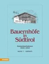 Bauernhöfe in Südtirol Band