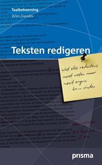 Teksten redigeren | Wim Daniëls |