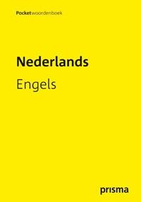 Prisma pocketwoordenboek Nederlands-Engels | A.F.M. de Knegt; C. de Knegt-Bos |
