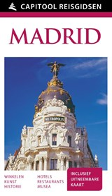 Capitool Madrid + uitneembare kaart | Adam Hopkins ; Mark Little ; Edward Owen | 9789000341948