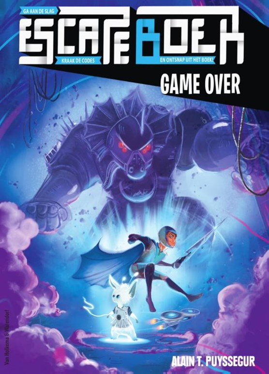 Escape boek - Game Over