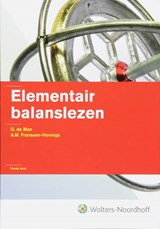 Elementair balanslezen | G. de Man & A.M. Franssen-Honings |