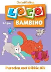 Dikkie Dik: Bambino loco Puzzelen met Dikkie Dik 3-5 jaar