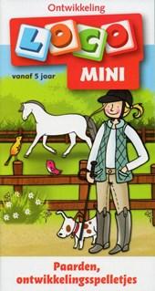 Loco mini ontwikkeling  Paarden, ontwikkelingsspelletjes