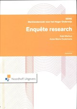 Enquete research | K.A.R. Markus ; Anne Marie Oudmans ; A.M. Oudemans |