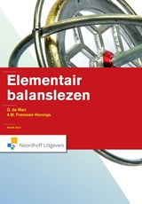 Elementair balanslezen | G. de Man ; A.M. Franssen - Honings |