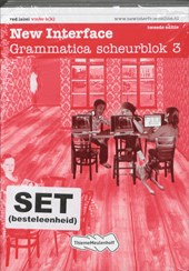 New Interface  (set 5ex) / 3 vmbo b(k) / deel Grammatica scheurblok |  |