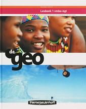 De Geo aardrijkskunde 1 Vmbo-kgt Lesboek