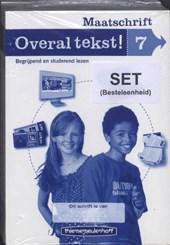 Overal Tekst ! / Groep 7 / deel Maatschrift  (set a 5)