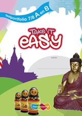 Take it easy - Taalportfolio A en B (set a 5 ex) | A. Bakker ; Alda Bakker ; A. Mantel ; Ankie Mantel ; Rvtekst |