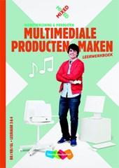 MIXED vmbo Multimediale producten maken Combipakket leerwerkboek + totaallicentie leerling