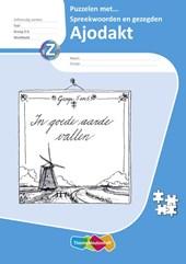 Ajodakt Taal, Puzzelen met spreekwoorden, gr5-6, werkboek 5ex