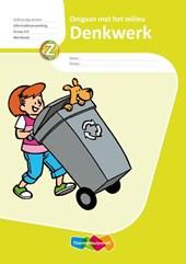 Denkwerk, Informatieverwerking, Omgaan met Milieu, Werkboek Gr 3-4 (5x)