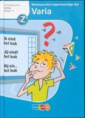 Varia, spelling, werkwoorden tegenwoordige tijd PO gr 6-7 Leerlingenboek