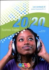 20/20 English Leer-werkboek A1-A2 Economie niv