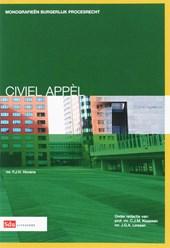 Monografieen Burgerlijk Procesrecht Civiel Appel
