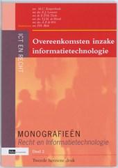 Monografieen Recht en Informatietechnologie Overeenkomsten inzake informatietechnologie