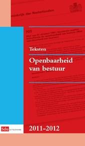 Teksten Openbaarheid van bestuur 2011-2012