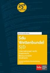 Sdu Wettenbundel (set 2 ex) Sociaal Juridische Dienstverlening deel A 2018-2019