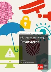 Sdu wettenverzameling Privacyrecht | auteur onbekend |