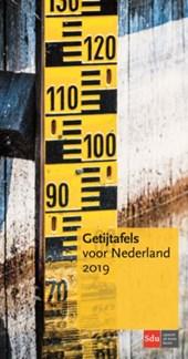 Getijtafels voor Nederland 2019